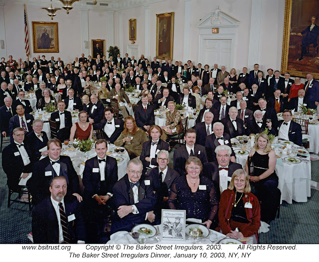 The 2003 BSI Dinner group photo