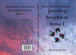 """Couverture de """"Growing Antichrist, tome 1"""", de Bloodwitch Luz Oscuria"""