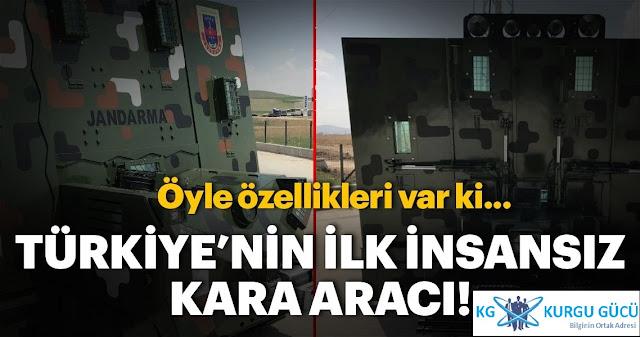 Robot Kalkan: Türkiye'nin Yerli Üretimi İlk İnsansız Kara Aracı - Kurgu Gücü