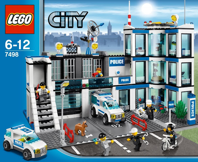 Lego city comisaría