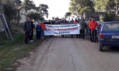 Την κάθετη αντίθεσή τους στην αλλαγή χαρακτήρα του δάσους της Βαλανιδορράχης εκφράζουν έντεκα πρόεδροι τοπικών κοινοτήτων και κάτοικοι της περιοχής σε κοινό υπόμνημα το οποίο φέρει 430 υπογραφές.