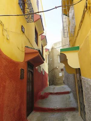 Calles de Moulay Idriss