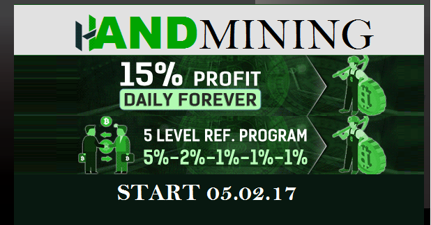 Bitcoin FORUM: HandMining investment REVIEW