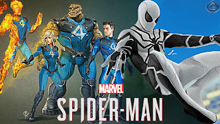 gambar spiderman dan fantastic four