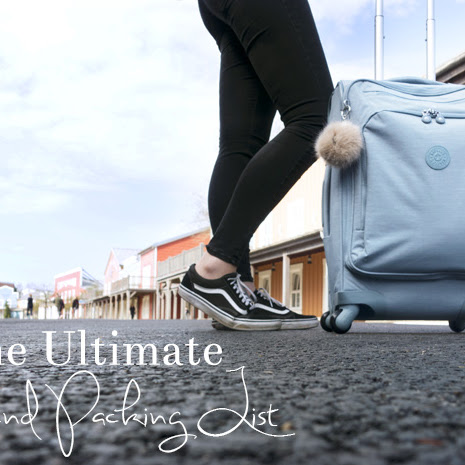 The Ultimate Weekend Packing List (for Disneyland!)