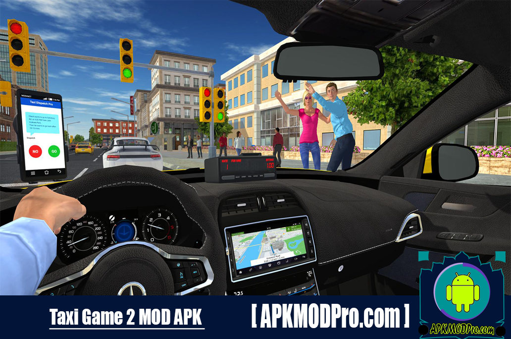 Download Taxi Game 2 MOD APK 2.1.2 (MOD Unlimited Money) For Android