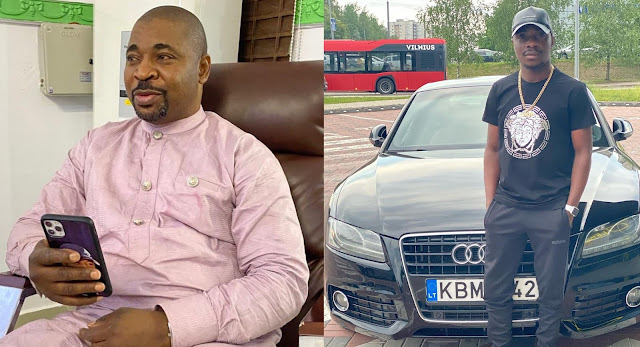 'Get A Father Like Man' - MC Oluomo's Son Tackles Those Calling His Father A Tout