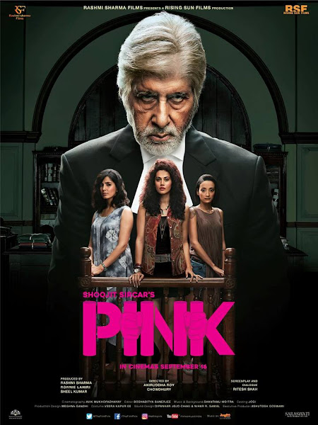 Poster Of Pink 2016 480p Hindi DVDScr Full Movie Download