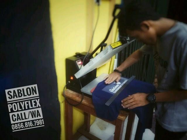 Jasa Sablon Polyflex di Jakarta, Bandung, Bekasi, Tangerang, Bogor, Cikarang, Cibitung Call/WA 0856-816-7981