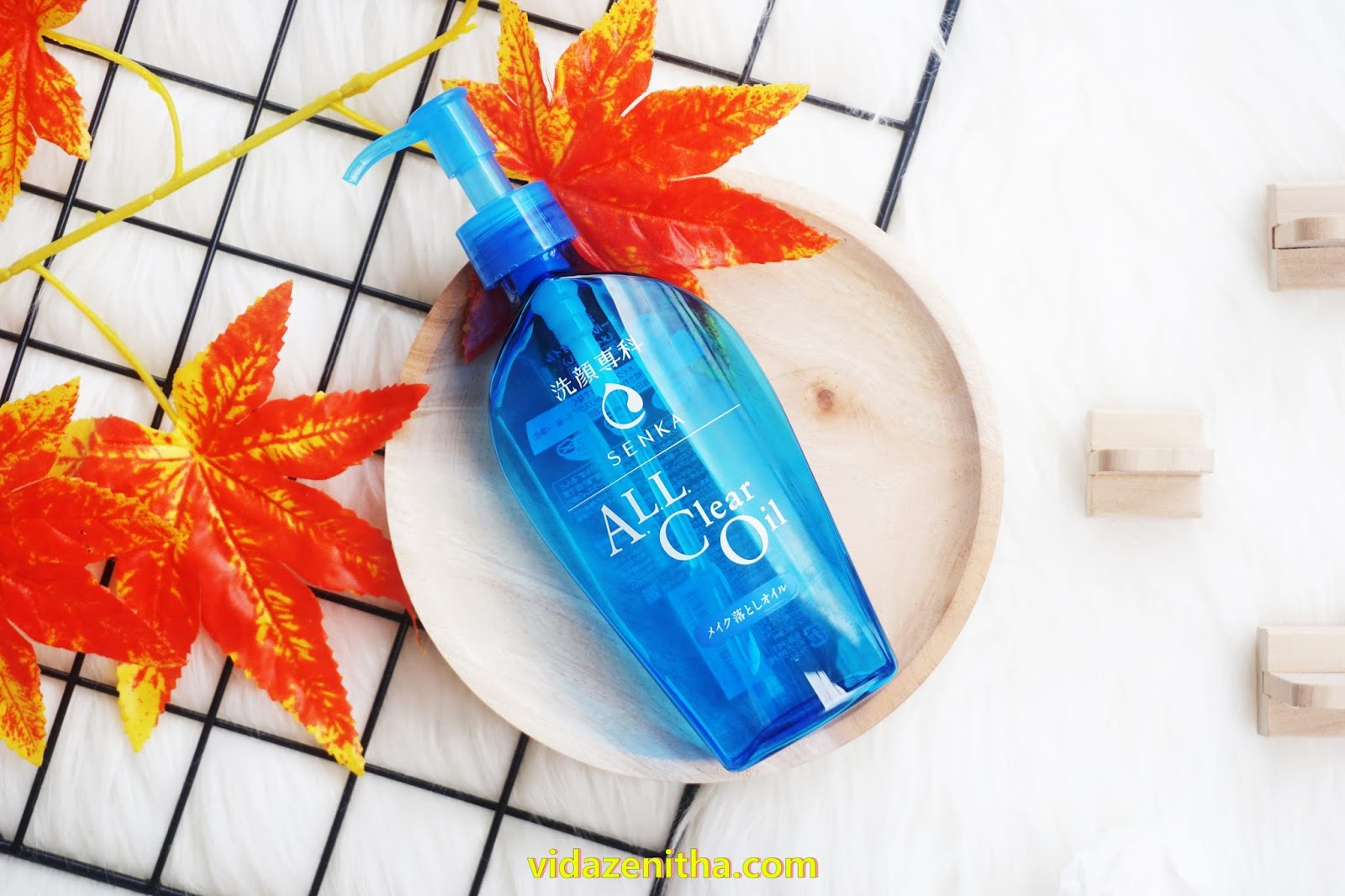 review senka cleansing oil senka all clear oil