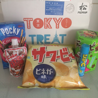 Tokyo Treat, Subscription Box, Japanese Candy, Unboxing
