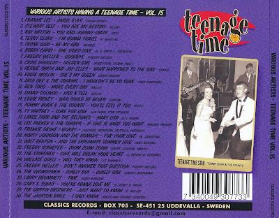 Various Artists - Teenage Time Volume 15