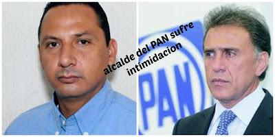 Posible acto de intimidación a alcalde panista en de Medellín de Bravo, Veracruz