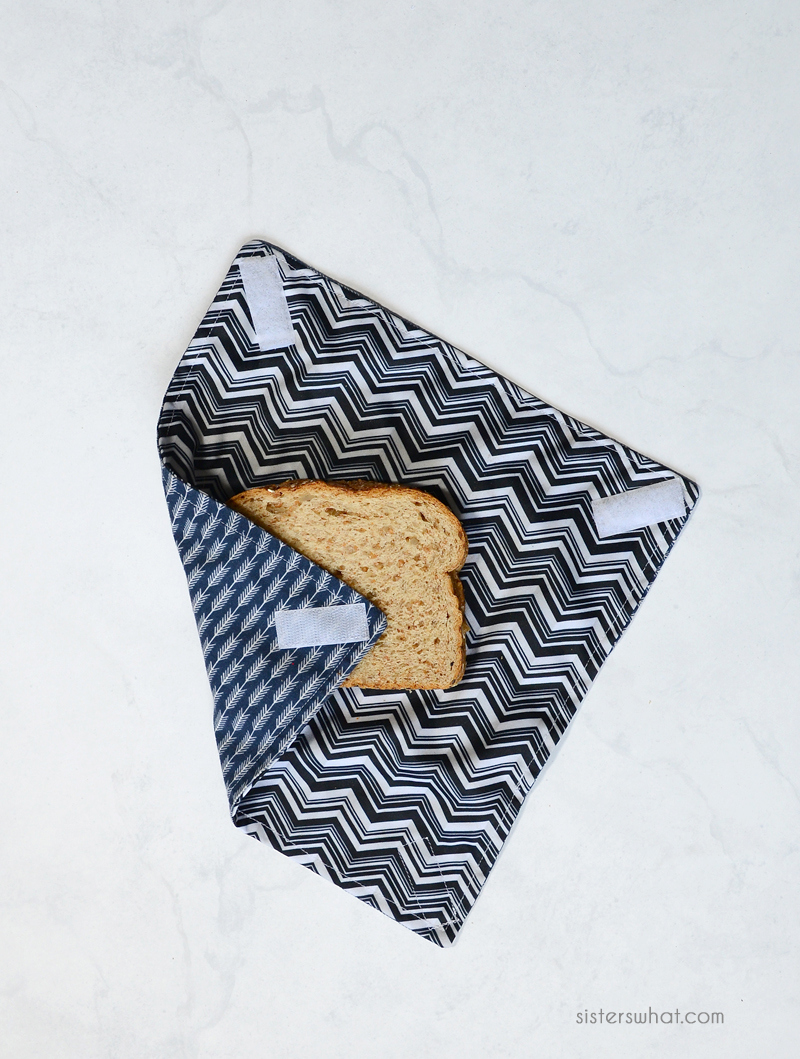 DIY reusable sandwich wrap