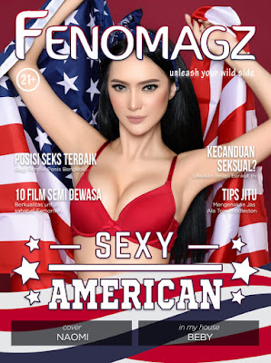 Majalah Fenomagz Edisi Juli 2017 Cover Naomi