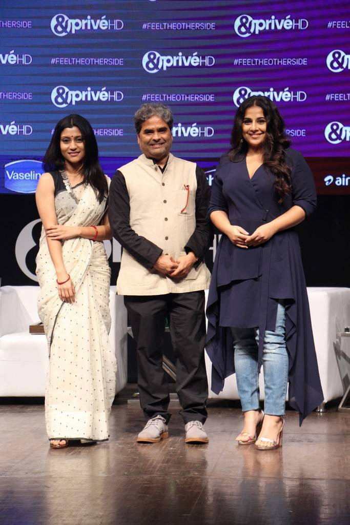 Vidya Balan At Prive HD New English Movie Channel Launch Gallery