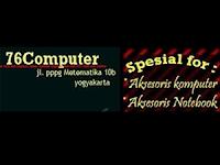 Lowongan Kerja Karyawati di CV. 76 Computer - Yogyakarta (Gaji pokok UMK (masa kerja >3 bulan)
