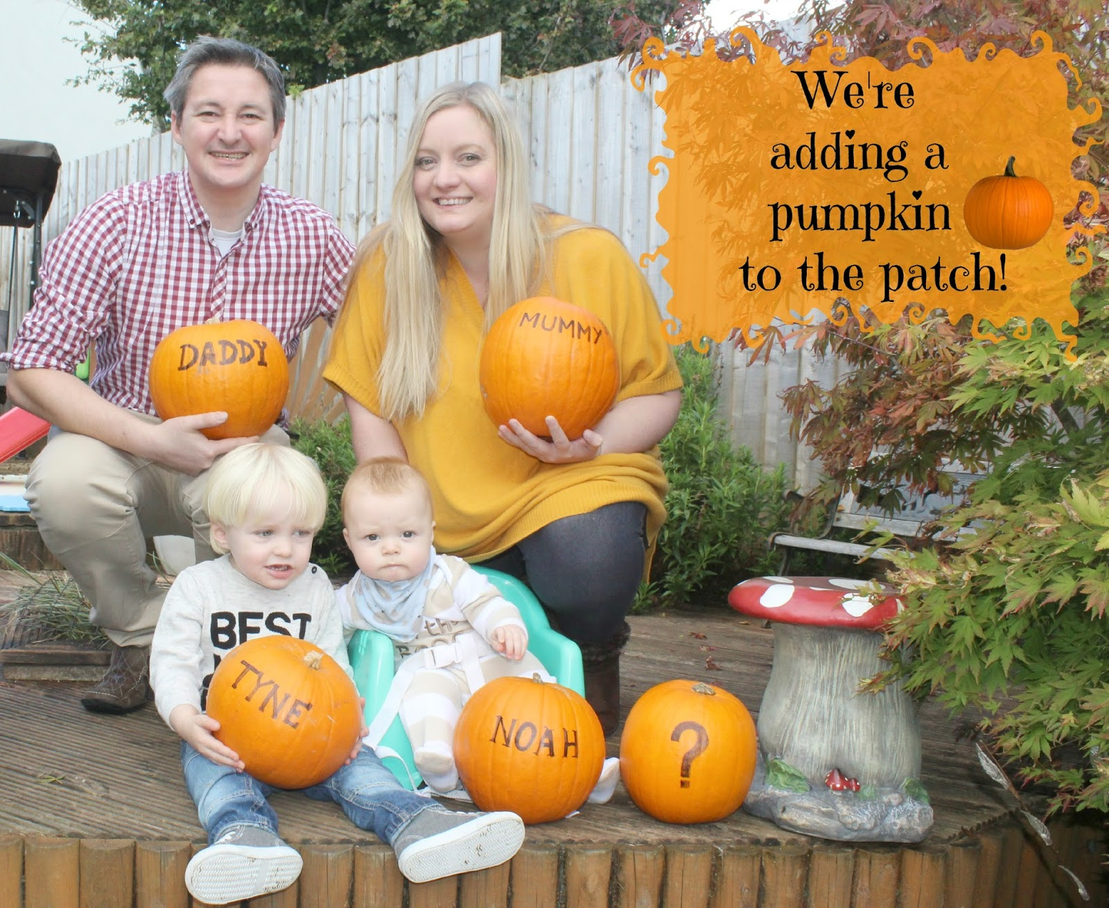 Me & Mine October...We have some news! | Sparkles and ...