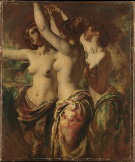 The Three Graces (1835) by the British Painter William Etty (1787 –1849)