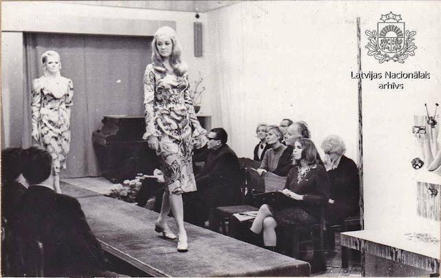 1971 год. Рига. Modes skate Rīgas Modeļu namā (автор фото: Sergejs Daņilovs)