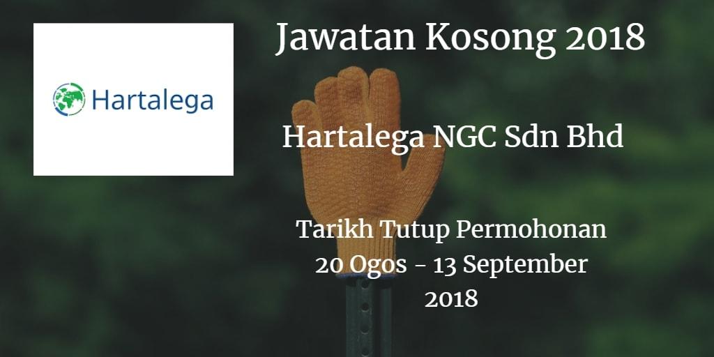 Jawatan Kosong Hartalega NGC Sdn Bhd 20 Ogos - 13 September 2018