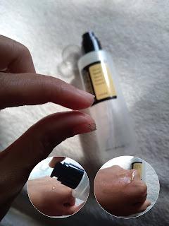Tekstur skincare, skincare lendir siput