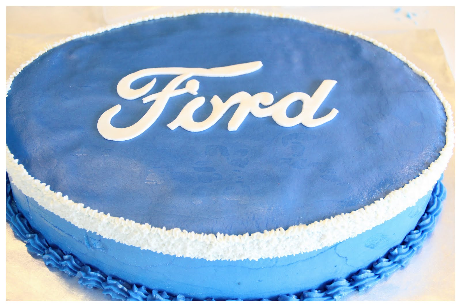 Carly S Cakes Ford Emblem