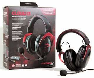 HyperX Cloud II Gaming Headset Worldwide Giveaway
