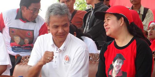 Puan Dan Ganjar Perang Baliho Di Karawang, Kader Senior PDIP: Apapun Keputusan Ketum, Kami Akan Taat