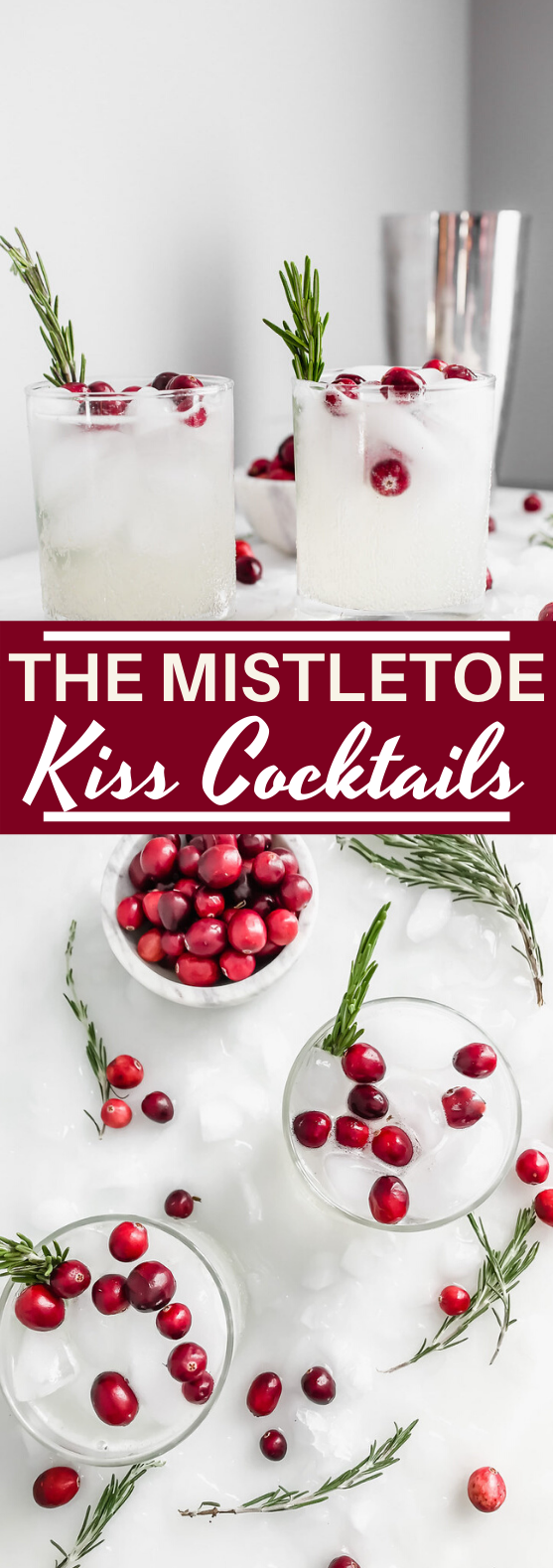 The Mistletoe Kiss Cocktail #drinks #alcohol #cocktails #christmas #recipe
