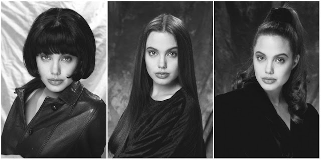 Old Photos Of A Teenager Angelina Jolie Modeling At A
