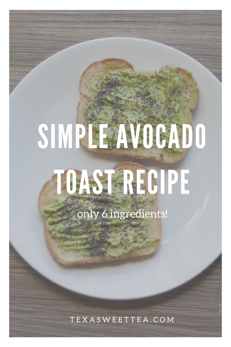 Easy avocado toast recipe that's also vegan! | texasweettea