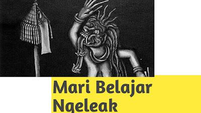 Lestarikan Budaya Bali, Mari Belajar Ngeleak