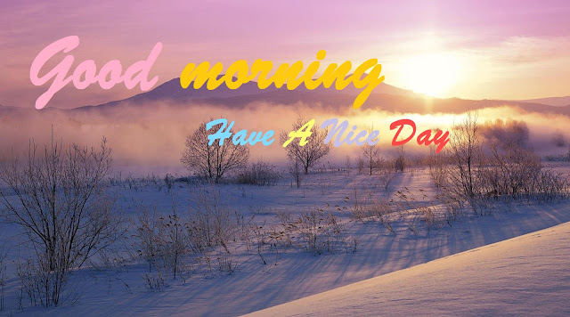 winter good morning images hd