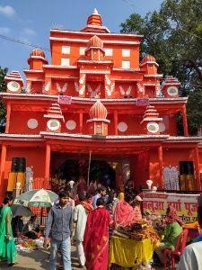 Durga puja pandal photo