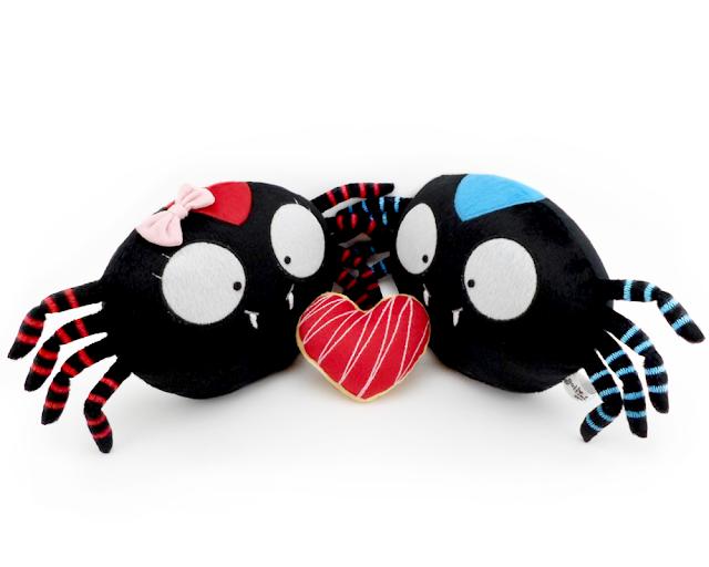 Pareja de boda personalizada, arañas de peluche guyuminos novios  regalo aniversario amor tarantula kawaii tierno plushies plush toy couple spider tarantula gift