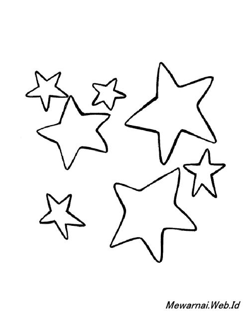 Mewarnai Gambar Bintang Dunia Mewarnai