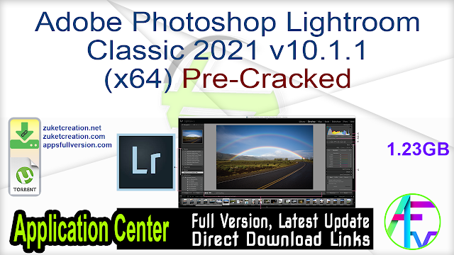 Adobe Photoshop Lightroom Classic 2021 v10.1.1 (x64) Pre-Cracked