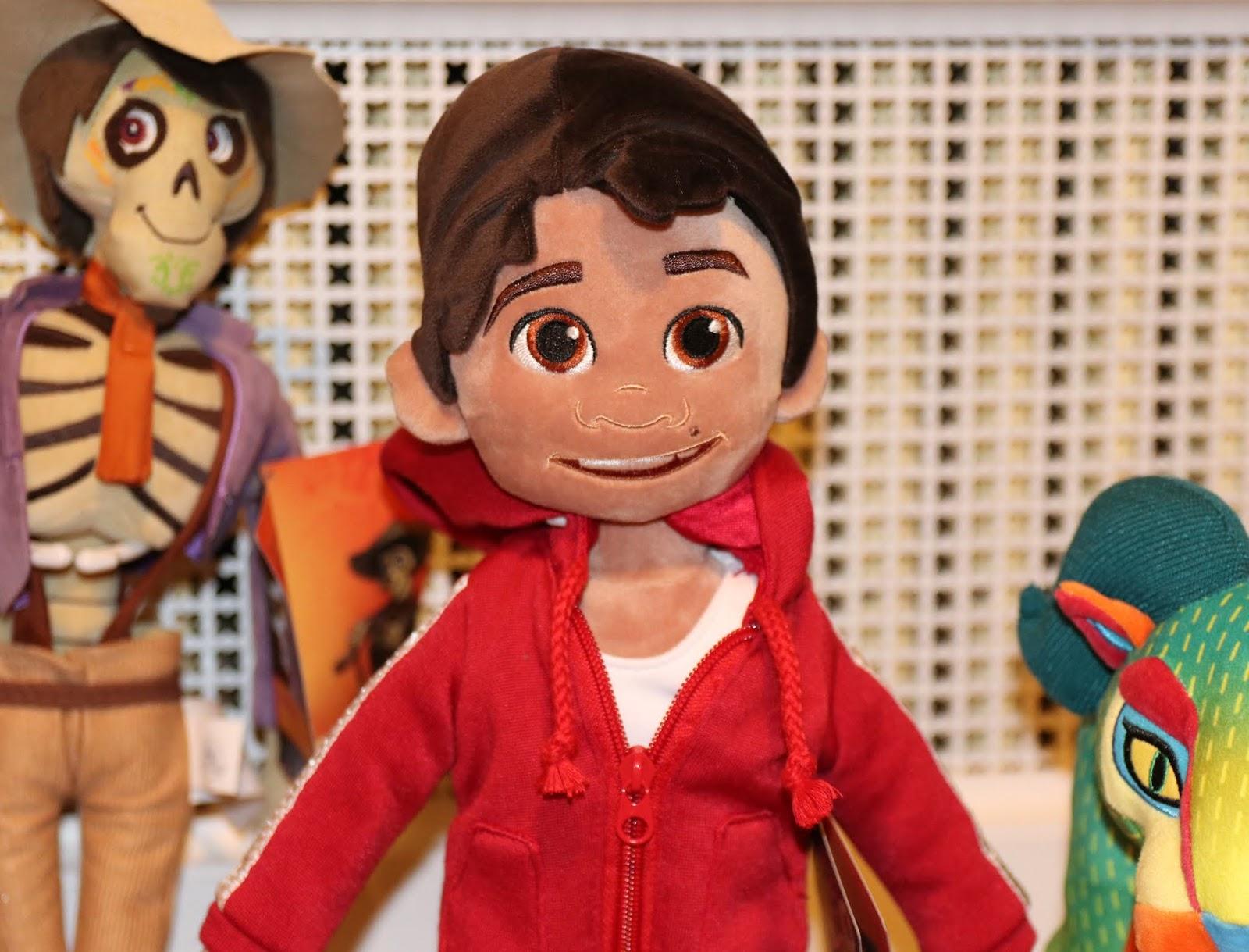disney store coco plush toys miguel