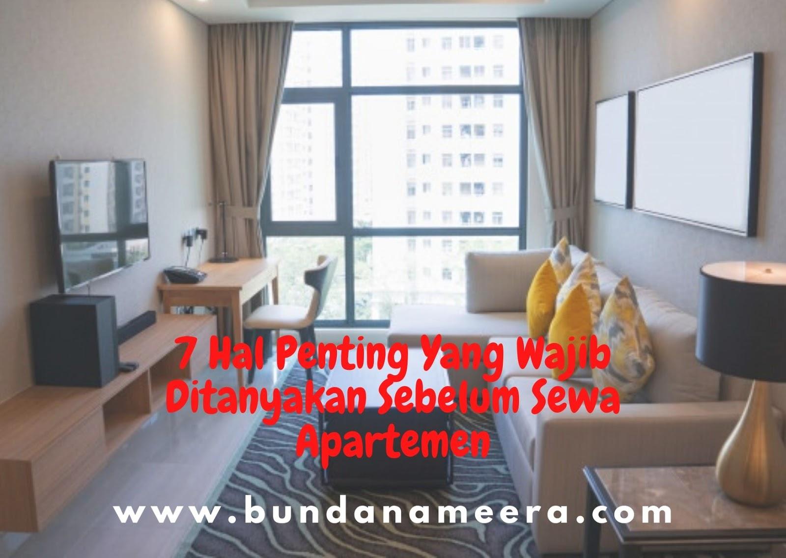 Kiat memilih apartemen, tips memilih apartemen, hal yang perlu dipertimbangkan sebelum sewa apartemen, bolehkah membawa kucin ke apartemen?