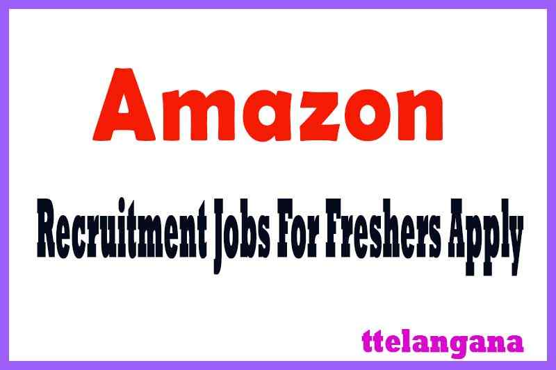Amazon Recruitment Jobs For Freshers Apply