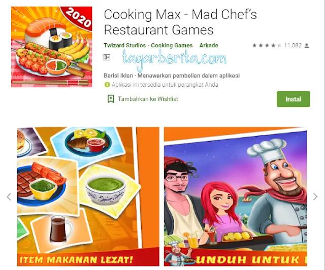 Game Memasak - Cooking Max