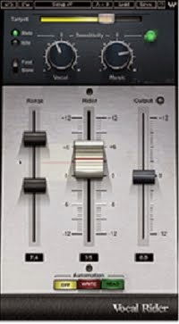 Vocal rider plugin vst untuk vocal
