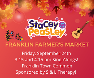 Farmers Market announces kids sing-along band to appear Friday, Sep 24