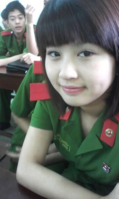 Cun : Polis Wanita Vietnam Yang SupERB #Cute (5 Gambar