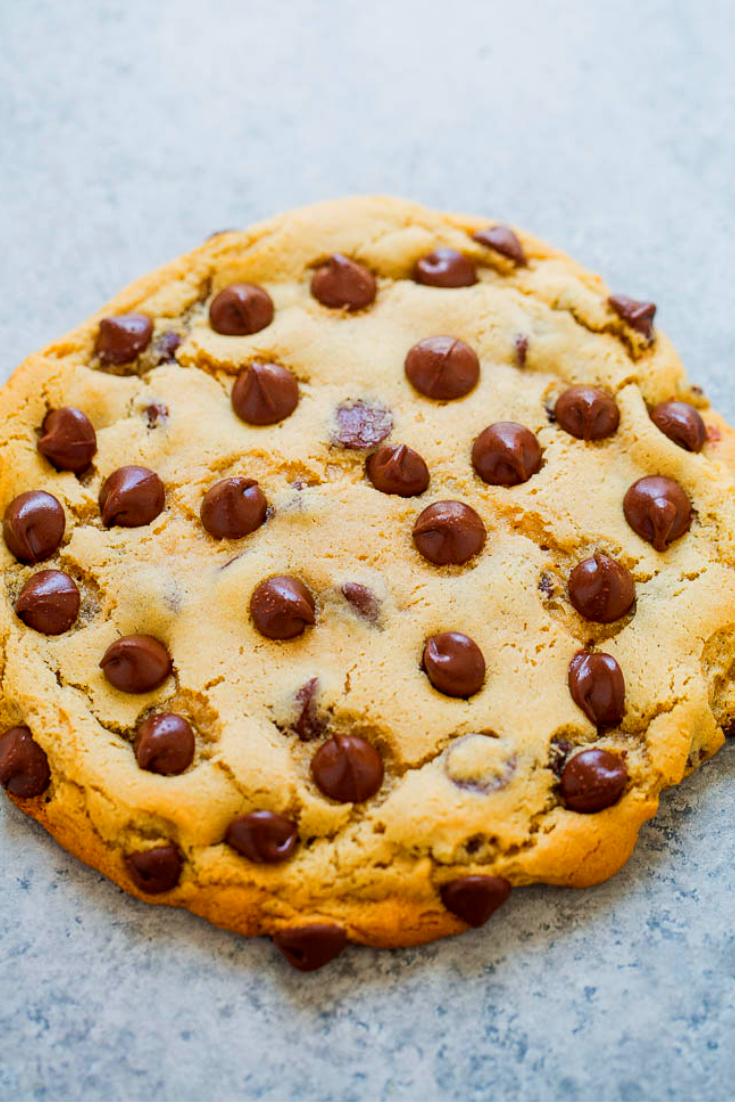 EXTRA LARGE CHOCOLATE CHIP COOKIE