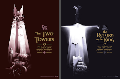 New York Comic Con 2021 Exclusive The Lord of the Rings Screen Print Series by Lyndon Willoughby x Bottleneck Gallery