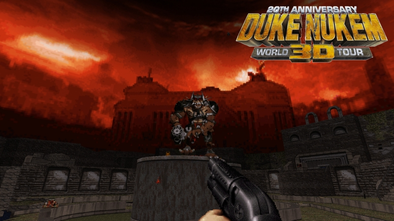 Duke Nukem 3D 20th Anniversary World Tour Poster