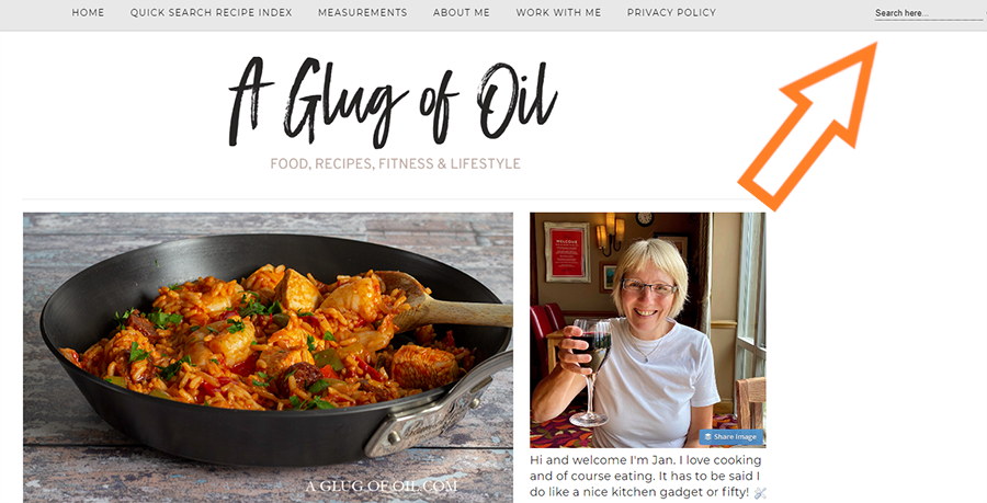 Search A Glug of Oil for recipes