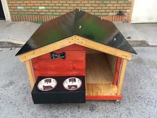 Caseta para perro DIY
